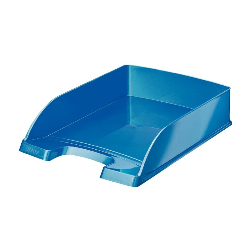 Szuflada na dokumenty Leitz Plus WOW niebieska