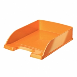 Szuflada na dokumenty Leitz Plus WOW pomarańczowa