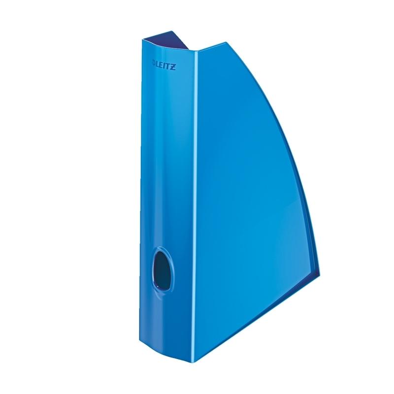 Pojemnik na czasopisma Leitz WOW niebieski