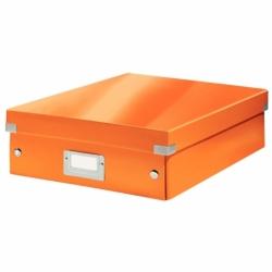 Pudło z przegródkami A4 Leitz C&S pomarańczowe