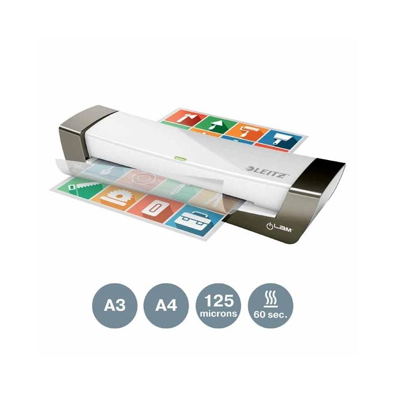 Laminator Leitz iLAM Office A4, 230V, srebrny