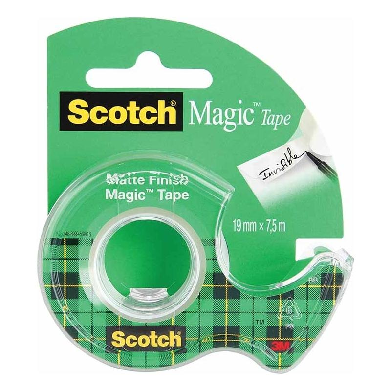 Taナ嬶a samoprzylepna Scotch Magic matowa 810, 19mmx7,6m