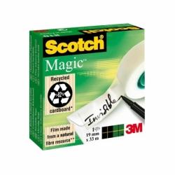 Taśma samoprzylepna Scotch Magic matowa 810 19mmx33m