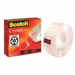 Taśma samoprzylepna Scotch Crystal Clear, przezroczysta