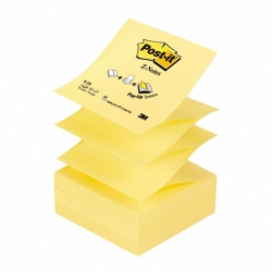 Karteczki samoprzylepne Post-it Z-Notes R-330 żółty, 76x76mm, 100 k