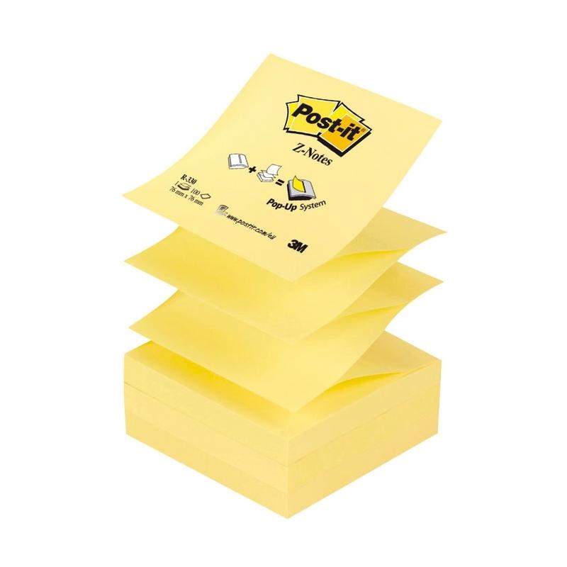 Karteczki samoprzylepne Post-it Z-Notes R-330 ナシテウナUy, 76x76mm, 100 k