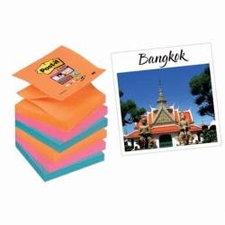 Karteczki samoprzylepne Post-it Z-Notes Super Sticky 6 bloczków  76x76 mm