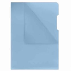 Ofertówka twarda kolorowa Donau A4, krystaliczna 180mic, opak. 100 szt niebieska