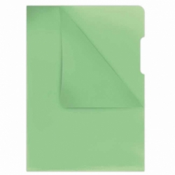 Ofertówka twarda kolorowa Donau A4, krystaliczna 180mic, opak. 100 szt zielona