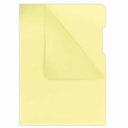 Ofertówka twarda kolorowa Donau A4, krystaliczna 180mic, opak. 100 szt żółta