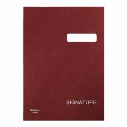 Teczka do podpisu Donau A4/20 przekładek