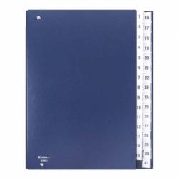 Teczka do podpisu z indeksami Donau 1-31