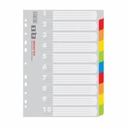 PrzekナBdki kartonowe A4 Office Products 12 kart