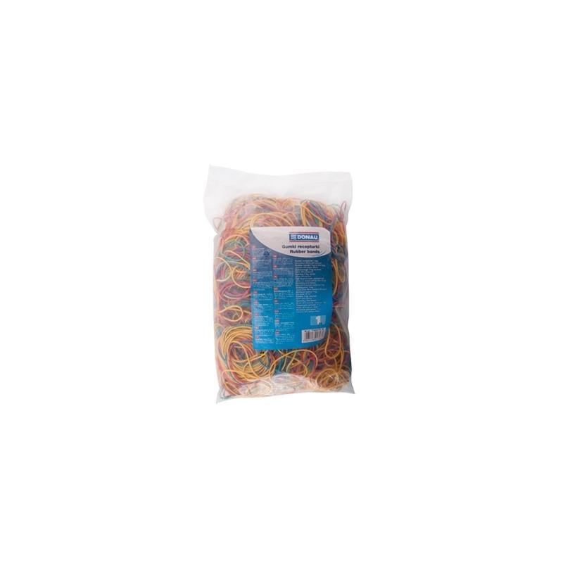 Gumki recepturki Donau mix kolorów, opak. 100G