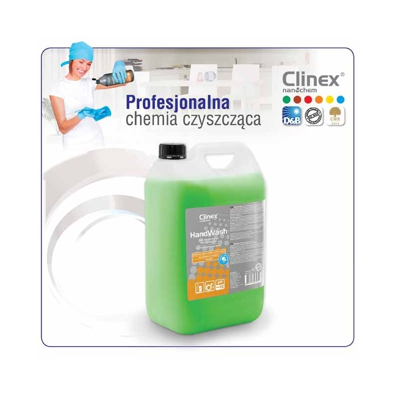 PナZn do mycia naczyナ� Clinex 5 L