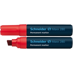 Marker permanentny Schneider Maxx 280 czerwony