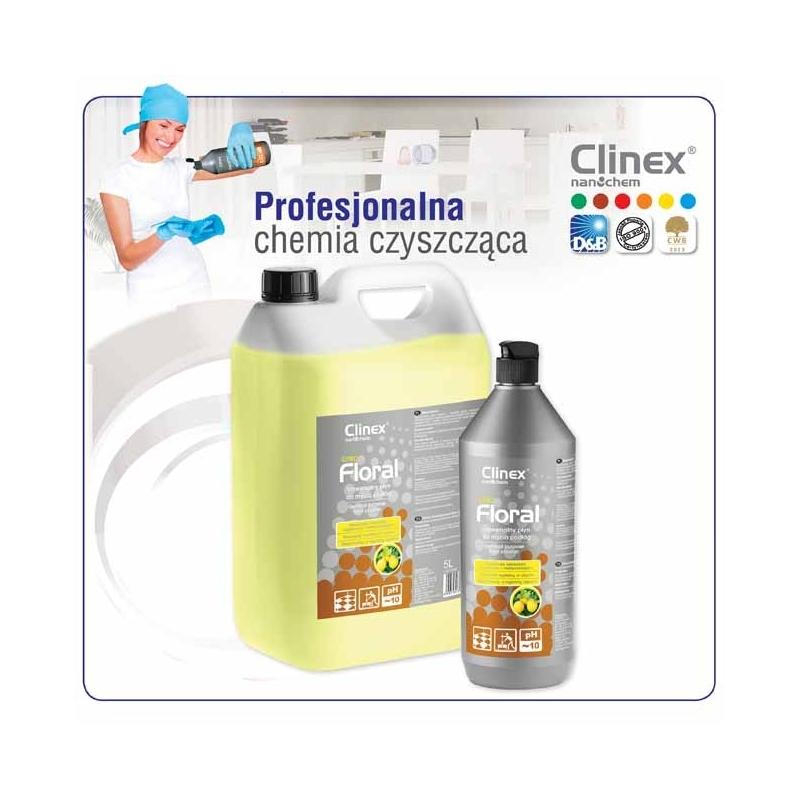 Płyn uniwersalny do mycia podłóg CLINEX Floral Citro 1 litr