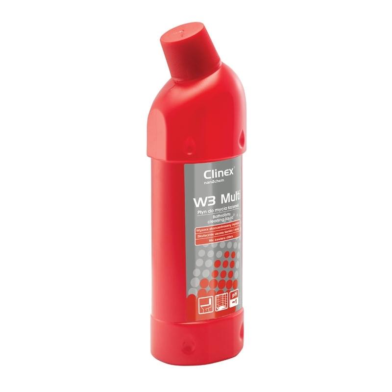 Preparat do mycia sanitariatów Clinex W3 Multi 1 litr, skoncentrowany