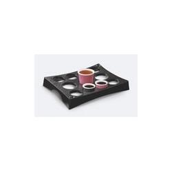 Zestaw Take a Break Podstawka na 11 kubków, czarna