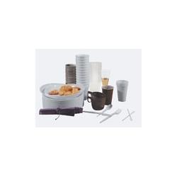 Naczynia jednorazowe miseczka do zupy, średnica 16cm, opak. 100 szt.