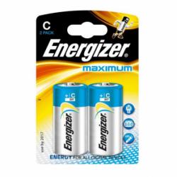 Baterie Energizer Maximum LR14, 1,5V, blister 2 szt.