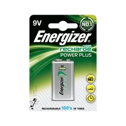 Akumulatorki Energizer Power Plus HR22, 9V, 175mAh