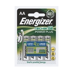 Akumulatorki Energizer Power Plus HR6, AA, 1,2V, 2000mAh, opak. 4 szt.