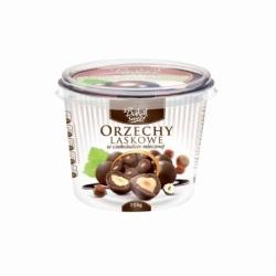 Bakalie w czekoladzie mlecznej 150g, orzechy laskowe