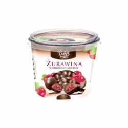 Bakalie w czekoladzie mlecznej 150g, żurawina