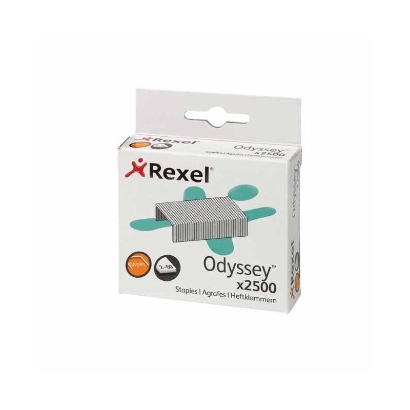 Zszywki Rexel Odyssey Opak.2500 zszywek