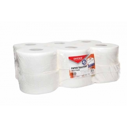 Papier toaletowy Office Products Jumbo biały, 19 cm