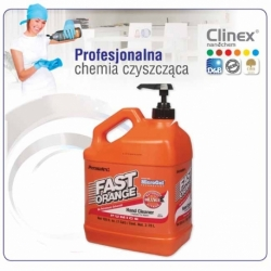 Emulsja do mycia rąk Clinex Fast Orange 3780 ml