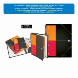 Kołonotatnik Oxford Meetingbook A4+/80k krata