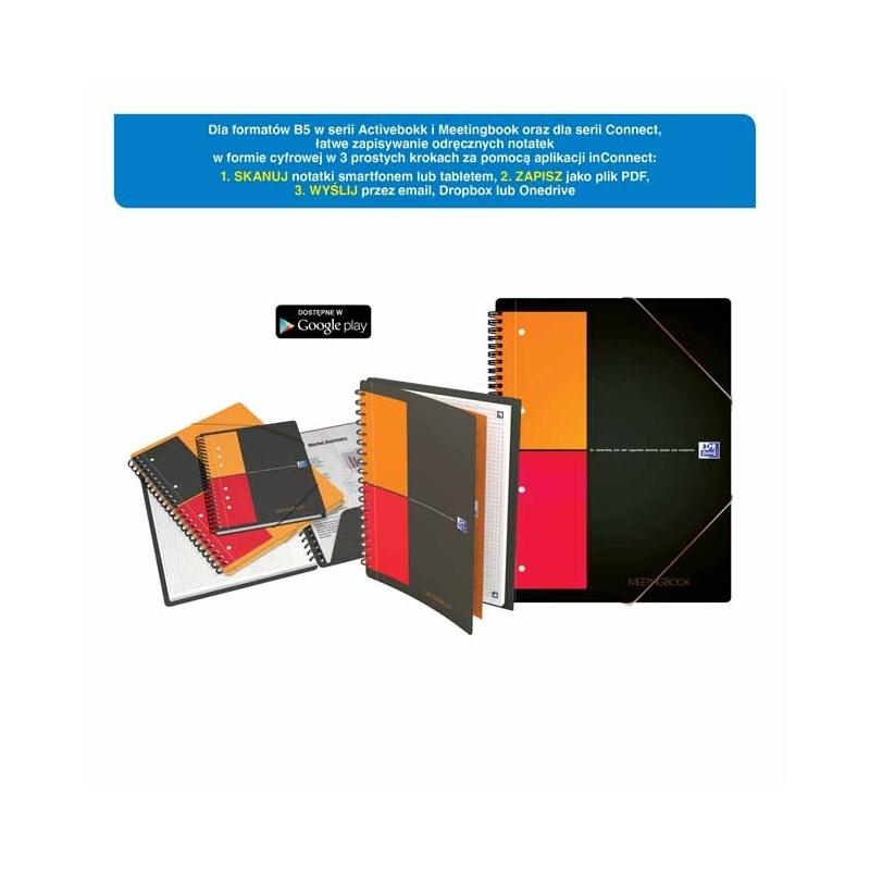 KoナPnotatnik Oxford Meetingbook A4+/80k krata