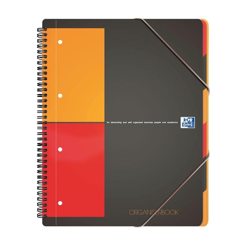 KoナPnotatnik Oxford Organiserbook A4+/80k kratka