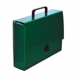 Teczka z rト�czkト� A4 VauPe Classic II zielona