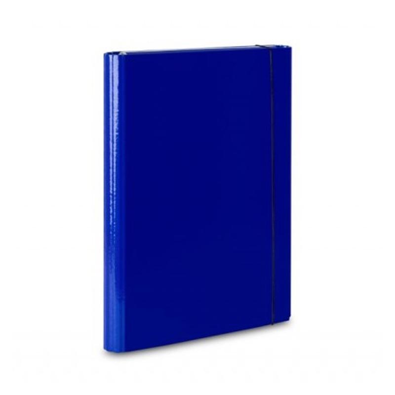 Teczka skrzydナPwa z gumkト� A4 VauPe niebieski