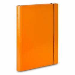 Teczka skrzydナPwa z gumkト� A4 VauPe pomaraナ�czowy