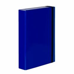 Teczka z gumką A4 Vaupe Caribic Box niebieska