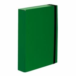 Teczka z gumkト� A4 Vaupe Caribic Box zielona