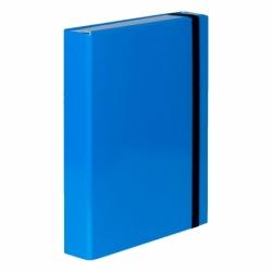 Teczka z gumką A4 Vaupe Caribic Box jasnoniebieska