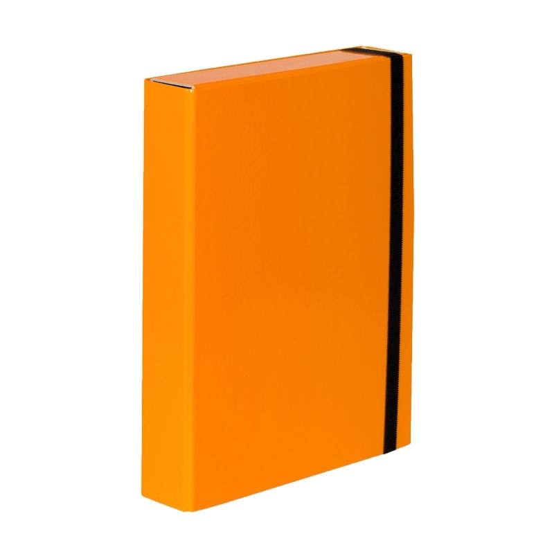 Teczka z gumką A4 Vaupe Caribic Box pomarańczowa