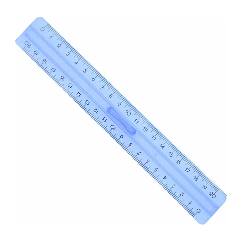 Linijka plastikowa Pratel z uchwytem 30 cm