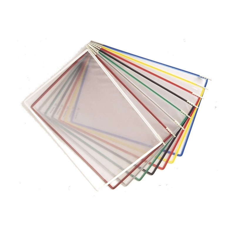 Panele prezentacyjne TARIFOLD TECHNIC A4, 10szt. mix kolorów