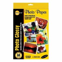 Papier fotograficzny Yellow One A4, 20 ark., 130 g/m2, bナZszczト�cy