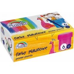 Farby plakatowe Fiorello 6 kolorów