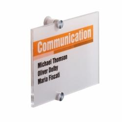 Tabliczka informacyjna CRYSTAL SIGN 210 x 148 mm