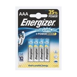 Baterie Energizer Maximum LR3 AAA, 1,5V, blister 4 szt.