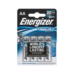 Baterie Energizer Ultimate Lithium FR6 AA ,1,5V, blister 4 szt.