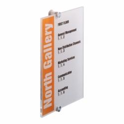 Tabliczka informacyjna CRYSTAL SIGN 210 x 297 mm